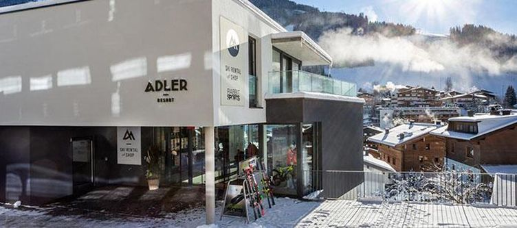 Adler Hotel Winter