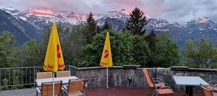 Adrenalin Terrasse Alpengluehen