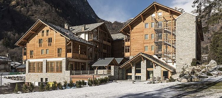 Alagna Hotel Winter