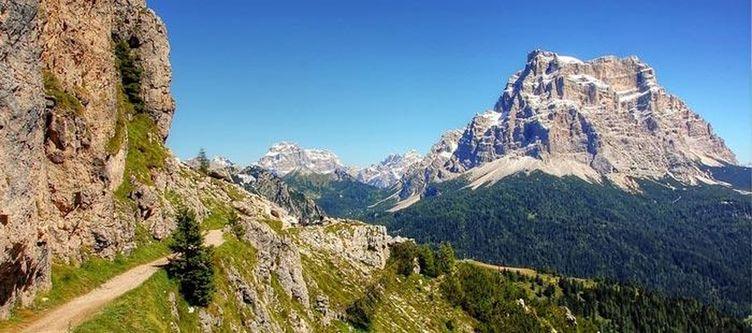 Alleghe Monte Civetta Dolomiten