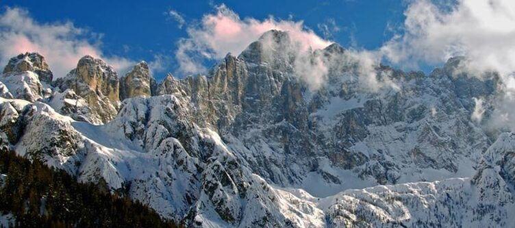 Alleghe Monte Civetta Winter 2