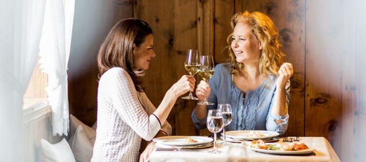 Almhof Restaurant Dinner2