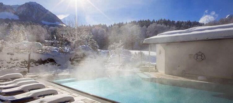 Alpenhof Wellness Aussen Bad