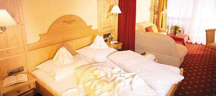Alpenhof Zimmer Doppel Komfort Alpenrose