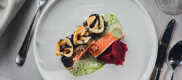 Alpenhotel Kulinarik Lachs