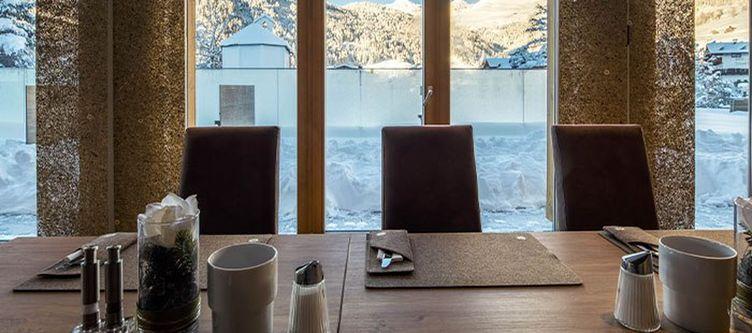 Alpenjuwel Restaurant Gedeck