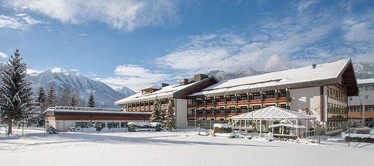 Alpenland Haus Winter
