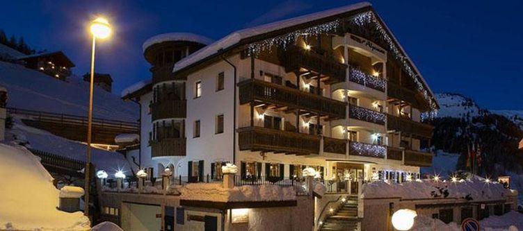Alpenrose Hotel Winter Abend