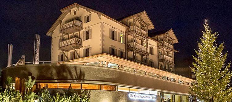 Alpina Hotel Abend