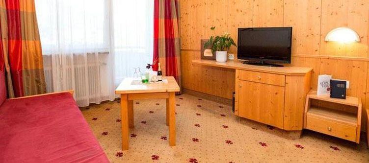 Alpina Zimmer Sitzecke
