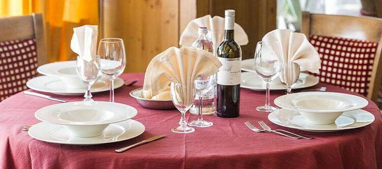Alpino Restaurant Gedeck