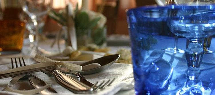 Alpoggio Restaurant Gedeck