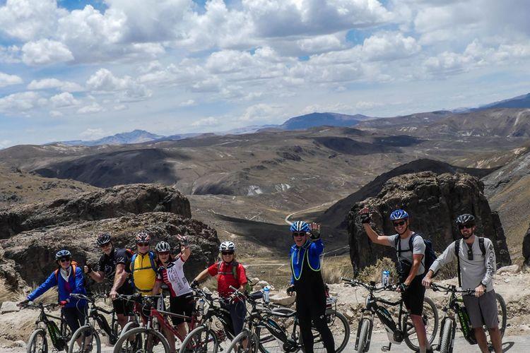 America Andina Colca Biking Route 58