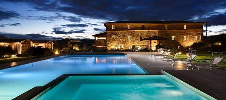Annaboccali Pool Abend