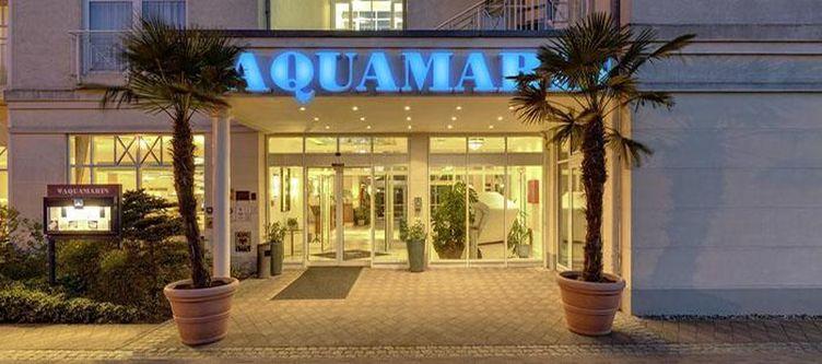 Aquamarin Hotel Eingang