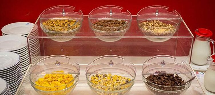 Astra Fruehstuecksbuffet Cerealien