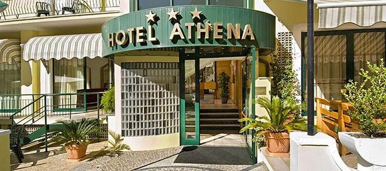 Athena Hotel Eingang