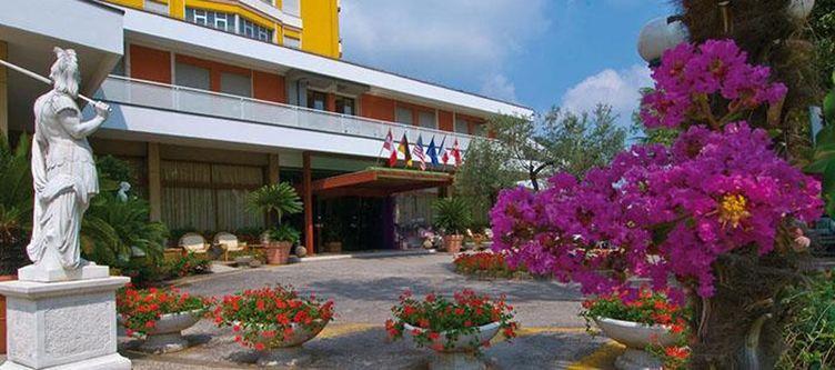 Augustus Hotel Eingang