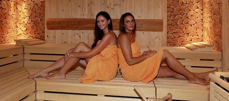 Auszeit Wellness Sauna
