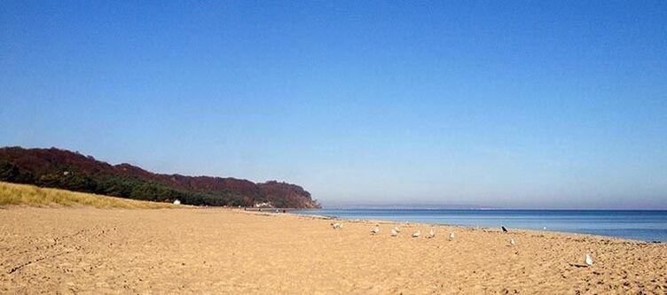 Baabe Umgebung Strand