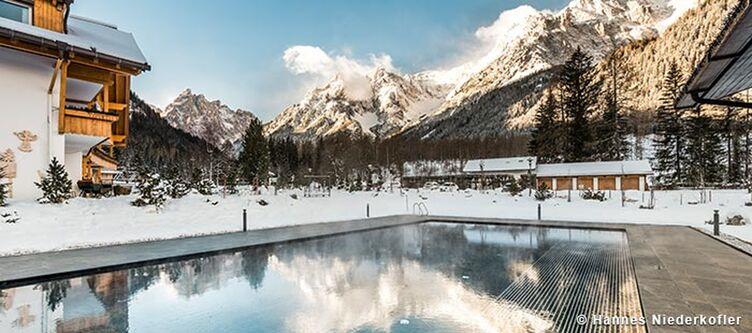 Badmoos Pool Winter