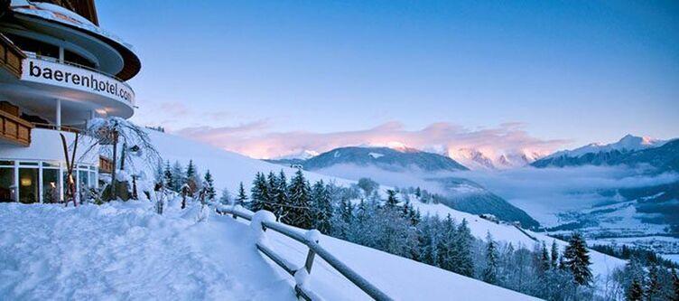 Baerenhotel Aussicht Winter