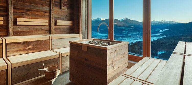 Baerenhotel Sauna Aussicht