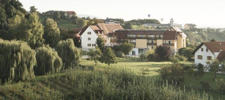 Ballonhotel Haus Mit Umgebung