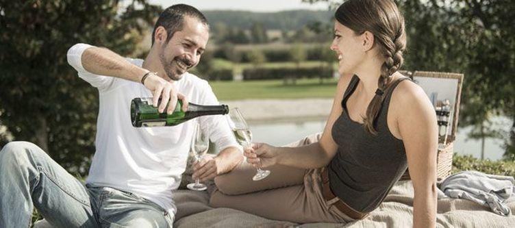 Ballonhotel Romantisches Picknick
