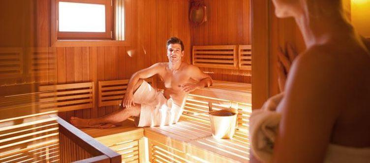 Ballonhotel Sauna