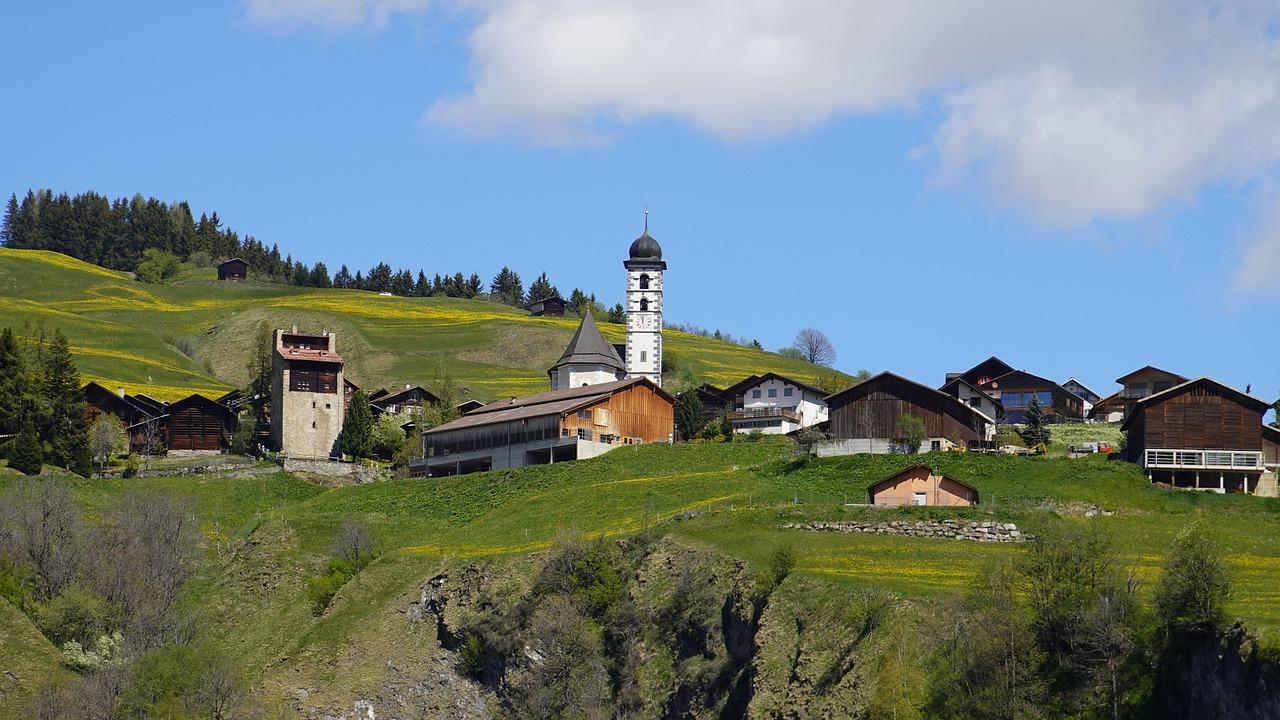 Bergdorf Graubünden