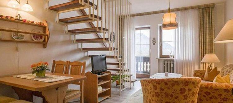 Bergschloessl Fewo Maisonette Wohnbereich2