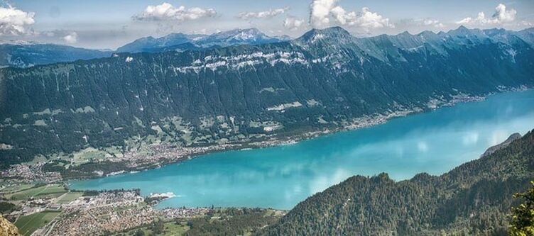 Berner Oberland Brienzer See Panorama 3