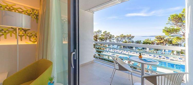 Berulia Zimmer Standard Seaside Balkon