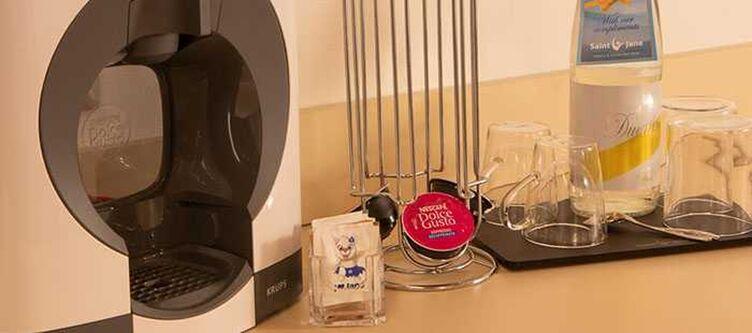 Binariozero Zimmer Superior Kaffeemaschine