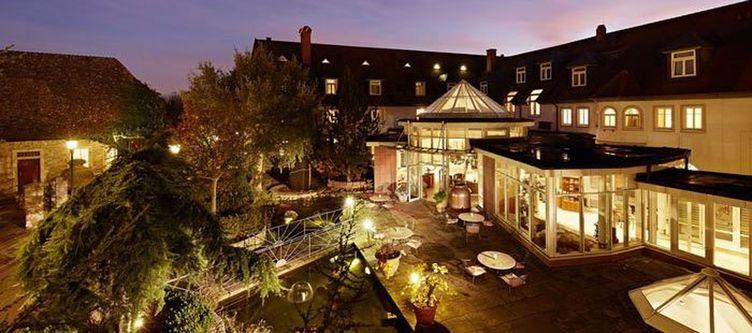 Binshof Hotel Abend