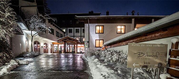 Birkenhof Hotel Winter Abend