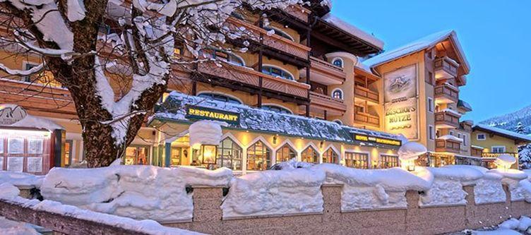 Bischofsmuetze Hotel Winter