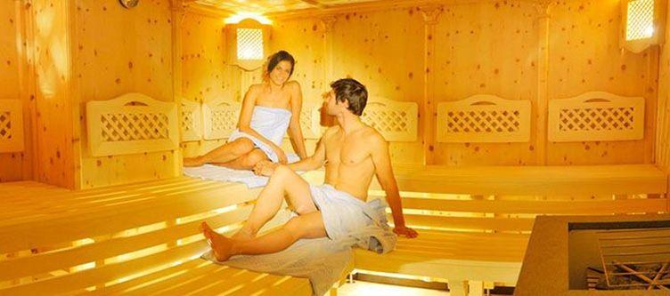 Bischofsmuetze Wellness Sauna