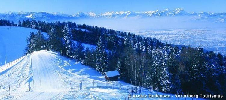 Bodensee Winterpanorama Vom Pfaender