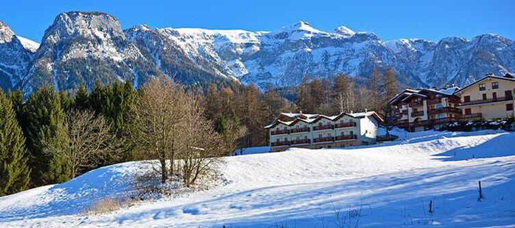 Bonetei Hotel Winter Berge
