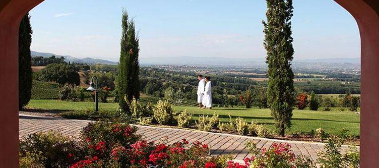 Borgobrufa Garten