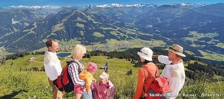 Brixental Sommer Grandiose Aussicht Von Der Salve 1