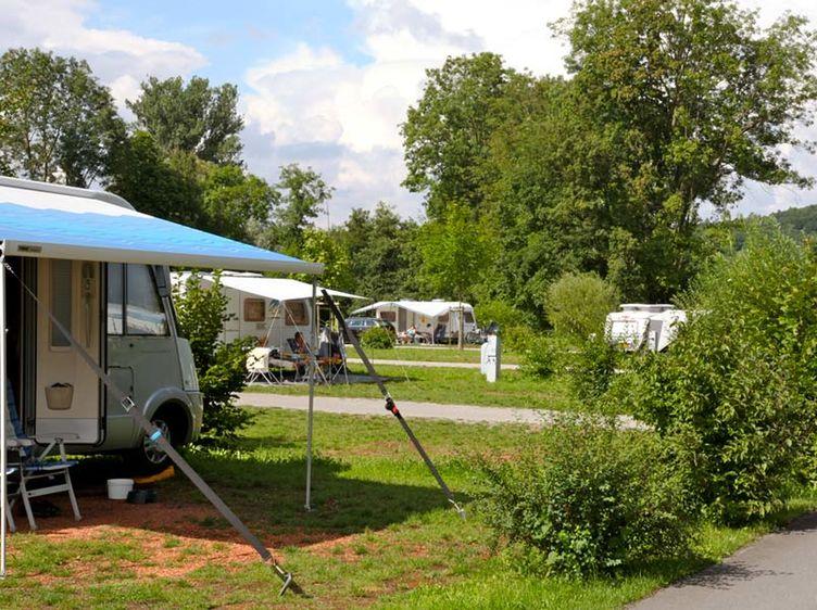 Camping Schwabenmuehle Taubertal Campingwagen Weikersheim 1