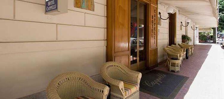 Capelli Hotel Eingang