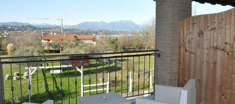 Cascina Zimmer Balkon Panorama
