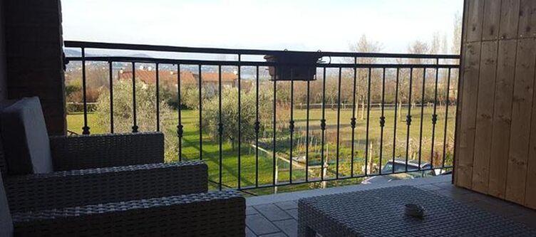 Cascina Zimmer Balkon