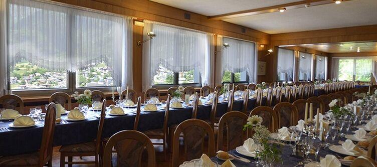 Castel Mani Restaurant Tafel