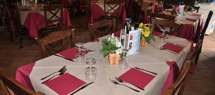Casteltesino Restaurant Gedeck