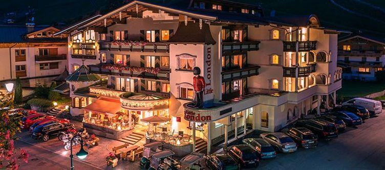 Central Gerlos Hotel Nacht